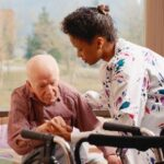 Caregiver for seniors