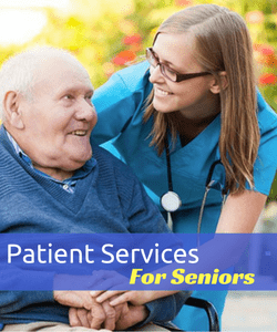 Patient Services for Elderly Patients Nursing Care & Patient Services for Adults and Children. Long term/ Short Term / Single Visit